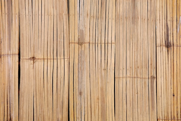 Бамбуковая текстура предпосылки структуры стены.