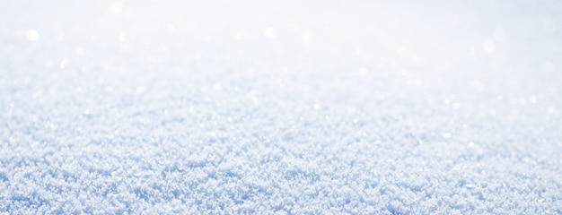 美しい雪のバナーの背景の長いバナー