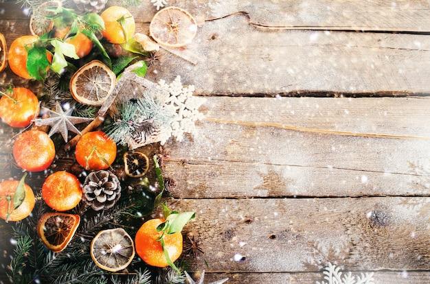 魔法のクリスマスの背景
