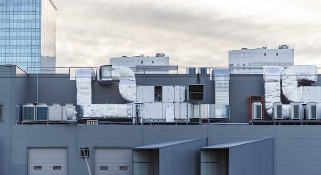 屋根の空調システム