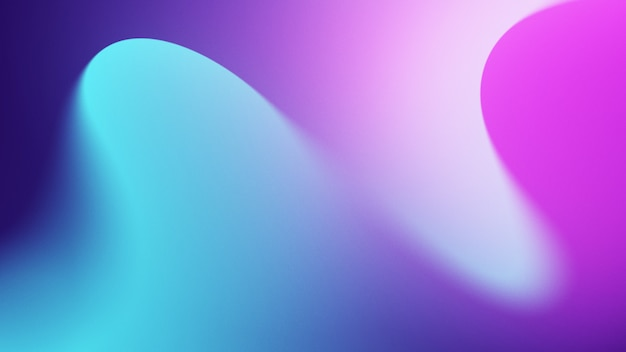 シアンと紫の色合いと抽象的なカラフルな背景