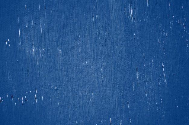 Классический синий тон абстрактной окраски стены фон