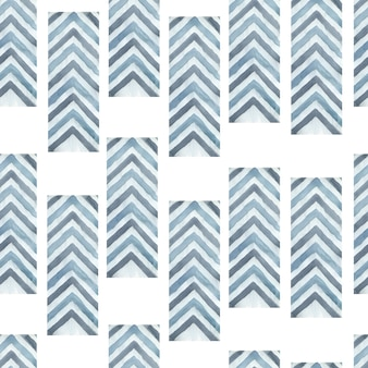 抽象的な幾何学的な矢印のシームレスなパターン背景。