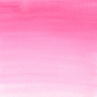 水彩のピンク色の背景。