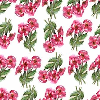 水彩花の背景。グリーティングカード。結婚式の招待状のテンプレート。
