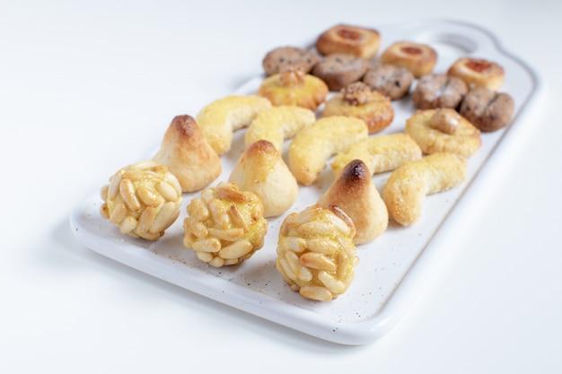 パネルレット-典型的なカタランマジパンデザート