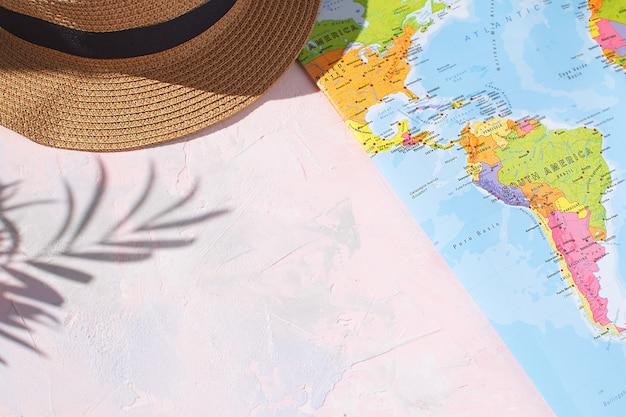 夏シーズン休暇の概念