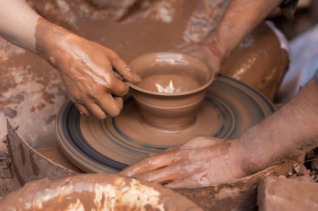 粘土モデリング