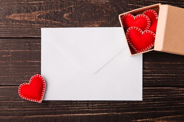 バレンタインデーのラブレター