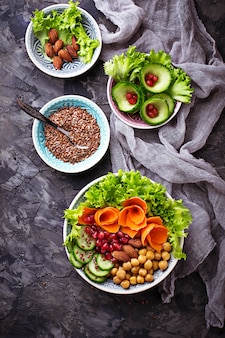 野菜とひよこ豆の大仏