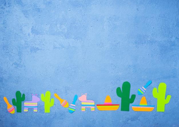 Синко де майо, мексиканская фиеста день концепция.
