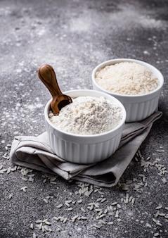 Здоровая безглютеновая рисовая мука
