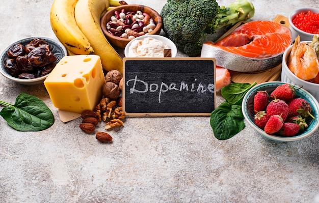Продукты источников гормона дофамина