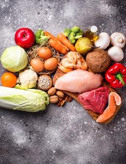 古ダイエットのための健康的な製品
