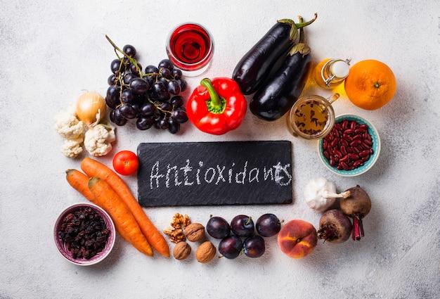 製品中の酸化防止剤きれいに食べる