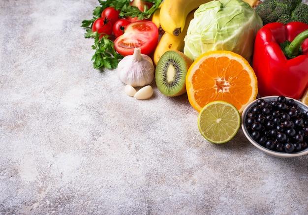 Пища, содержащая витамин с, здоровое питание
