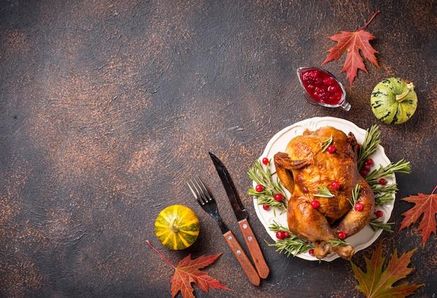 Запеченная индейка или курица на праздник