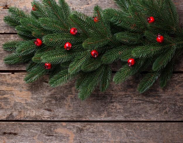Рождество с веткой дерева