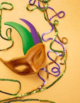 カーニバルマスクとマルディグラの組成