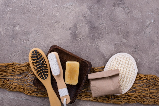 廃棄物ゼロの環境に優しい浴室付属品