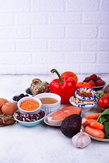 Пища, богатая коллагеном. здоровые продукты