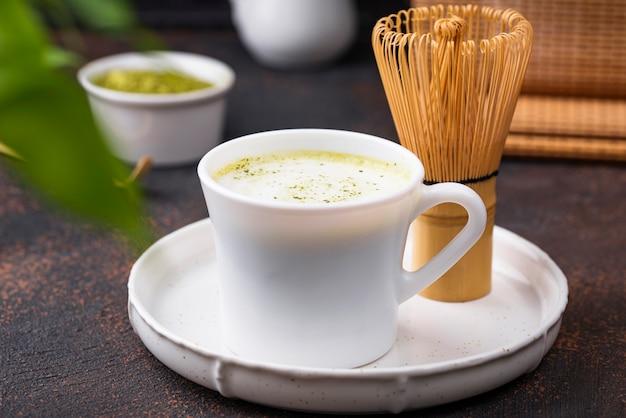 グリーンヘルシー抹茶ラテドリンク