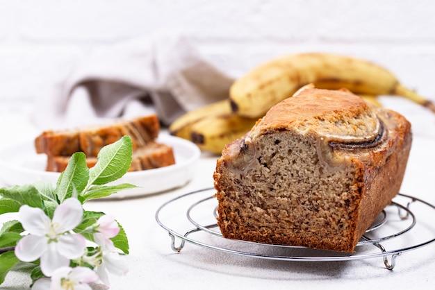 Банановый хлеб или буханка
