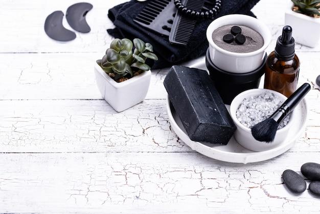 Набор косметики детокс черный уголь