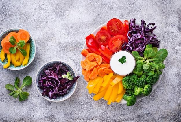 虹野菜のヘルシーサラダ