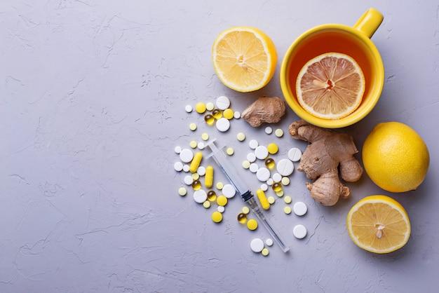 伝統的な薬と代替の自然療法