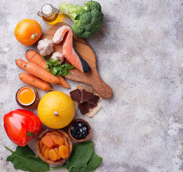 視覚に良い健康食品