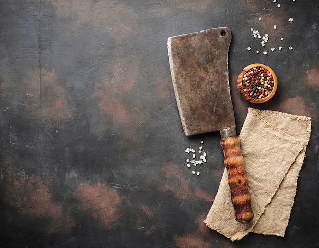 肉屋ビンテージ包丁スパイス