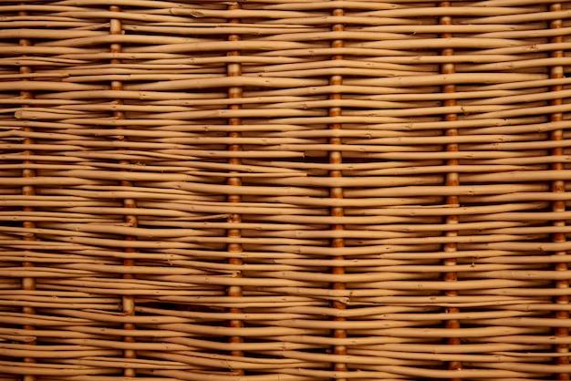 Текстура, фон плетеной соломы