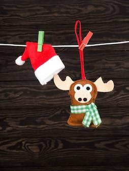 Рождественский олень, ручная работа