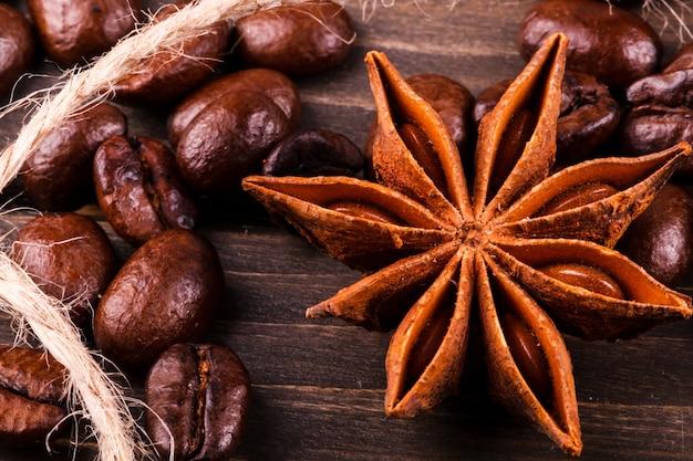 アニスの木はコーヒー豆にある