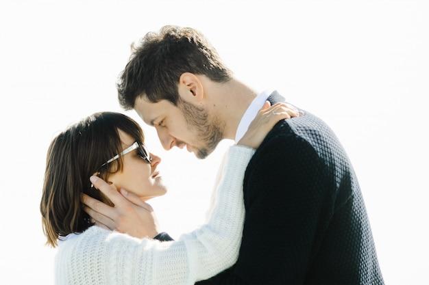 Влюбленные любят смотреть друг на друга