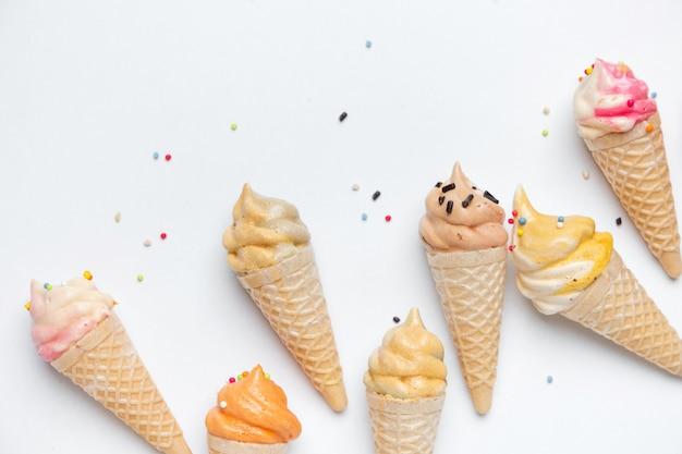 アイスクリームコーンのモデル