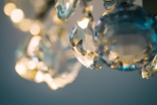 Крупным планом вид кристалла