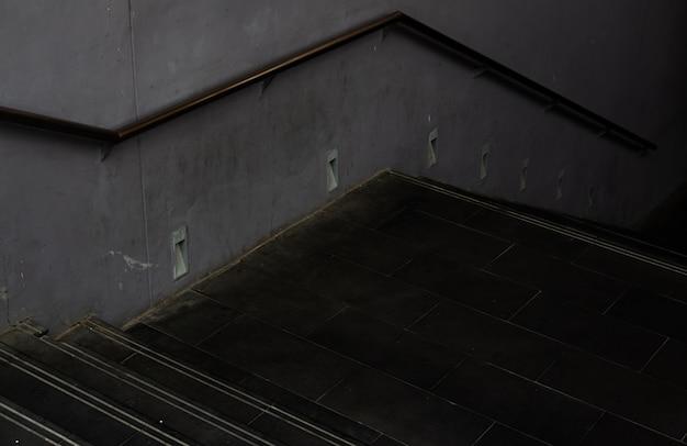 暗い地下への階段