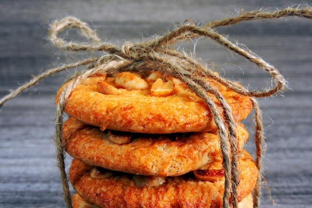 ピーナッツと自家製シュガークッキー