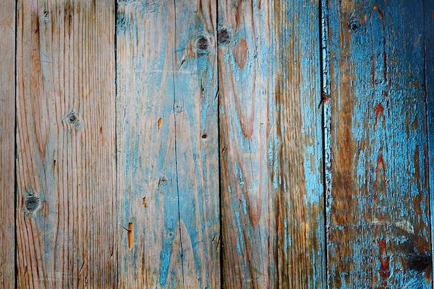背景として使用される古い、グランジの木製パネル