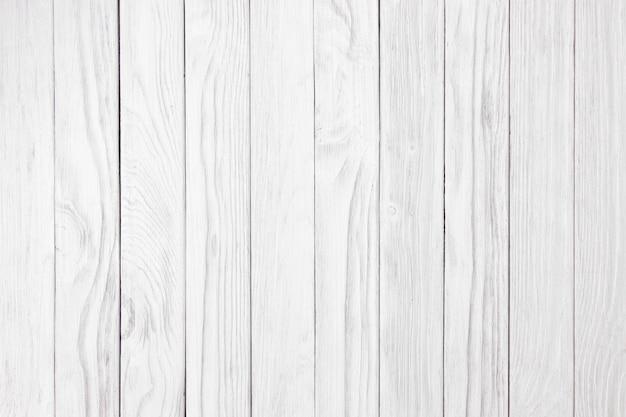 古典的な背景を使用して白い木の壁古いヴィンテージ