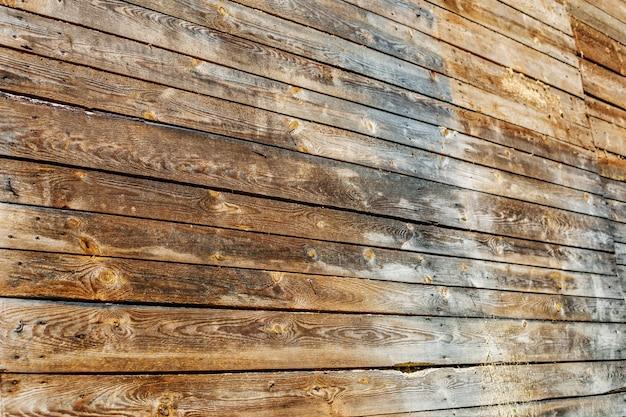 古い木ボードの壁コンセプトの背景とテキスト