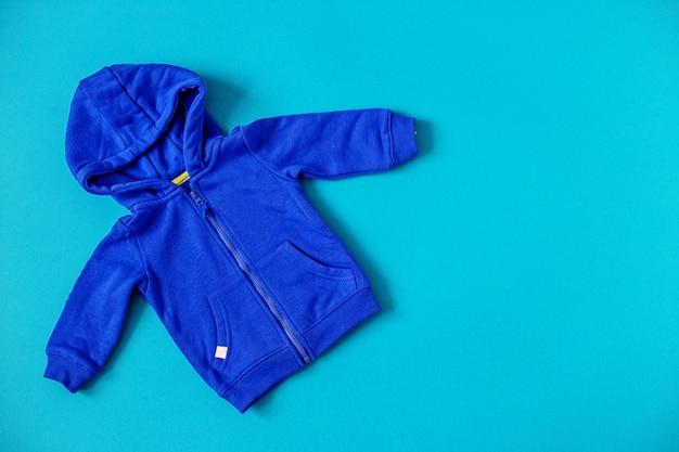 ベビー服平らに置きます。新生児、母性、ケア、ライフスタイルのコンセプトです。