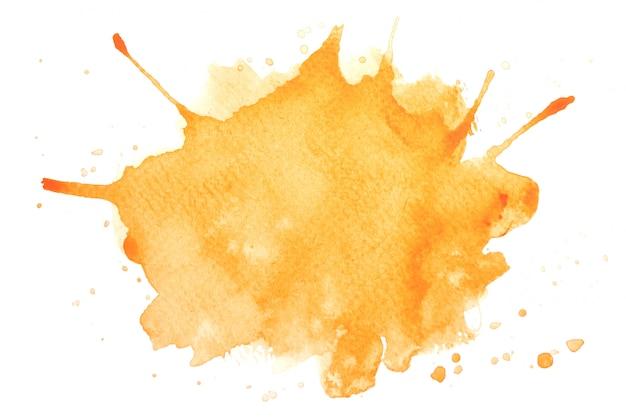黄色の水彩画の背景