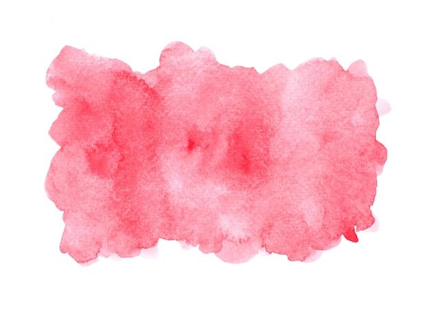赤い水彩背景