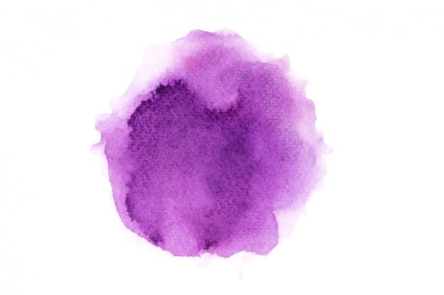 スプラッシュバックグラウンドカラーと紫の水彩画