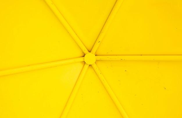 黄色の金属のテクスチャ