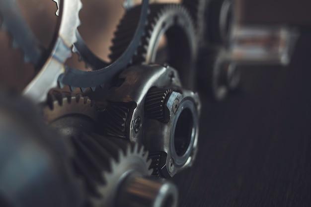 Двигатель шестерни колеса