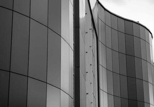 波状の近代建築
